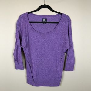 American Eagle Outfitters purple slouchy top